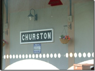 Churston Station - where Poirot and Hastings arrived when investigating the ABC murders