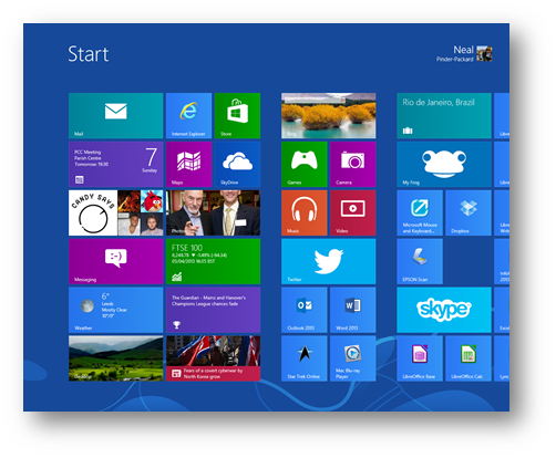 Ubuntu 12.10 v Windows 8