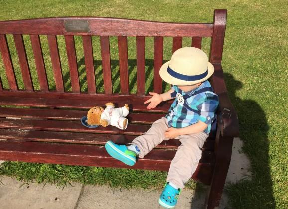 Jofli visits the Holy Island of Lindisfarne